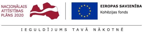 Kohēzijas fonda logo
